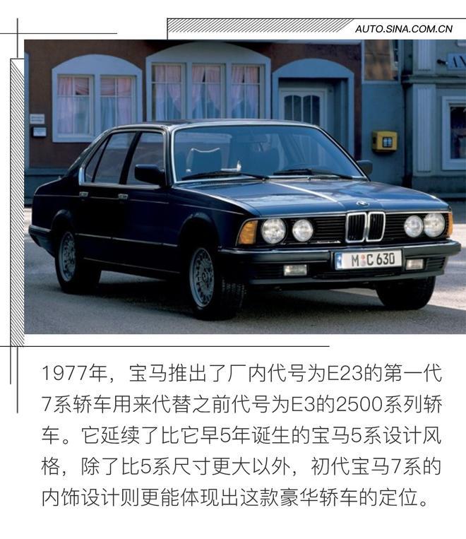 第一代宝马7系e23(1977-1986)